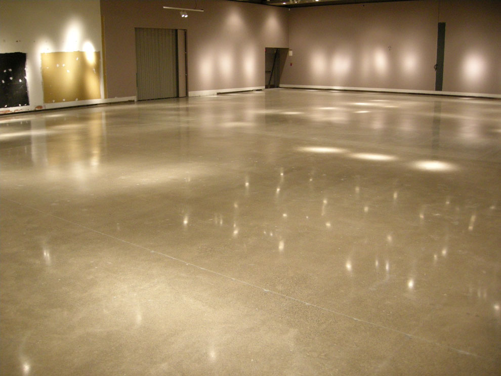 Ammonite coatings concrete floor resurfacing coating for Residential concrete floor wax